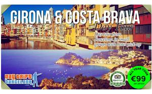 Girona and Costa Brava Day Tour