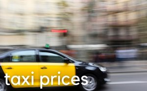 Barcelona taxi prices 2016