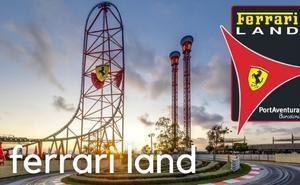 New Ferrari Land Barcelona theme park