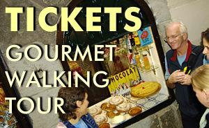 Tickets Gourmet Walking tour Barcelona