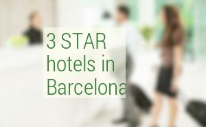 Best 3 Star hotels in Barcelona. Mid-range hotels Barcelona