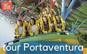 Bus + Tickets PortAventura theme park