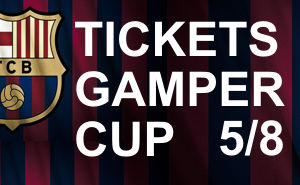 Tickets Joan Gamper Cup 2017