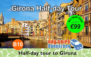 Girona Half-day Tour from Barcelona