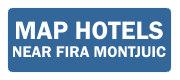 Best hotels near Fira Montjuic trade show area
