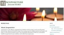 Acupuncture - Joachim Fouret