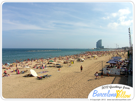 Barcelona beaches