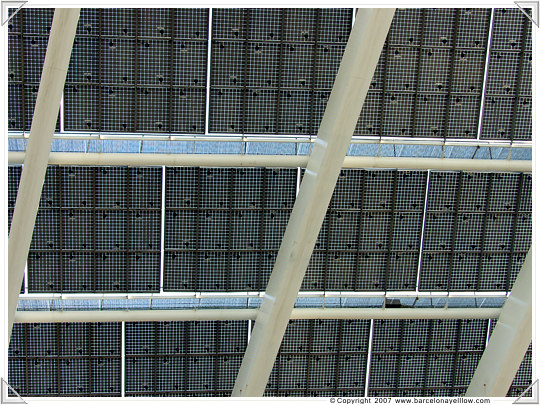Barcelona patterns solar panels