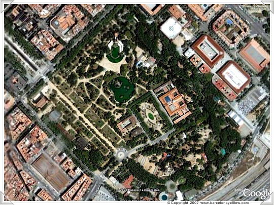 Parc Ciutadella, home to the parliament of Catalonia and Barcelona Zoo