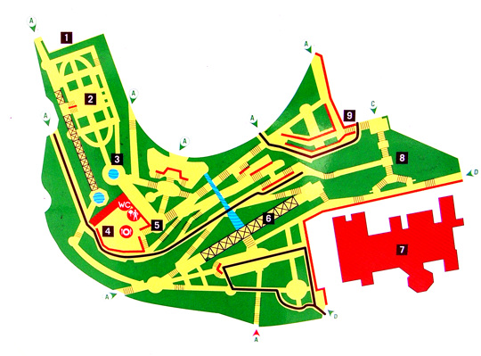 map park laribal montjuic