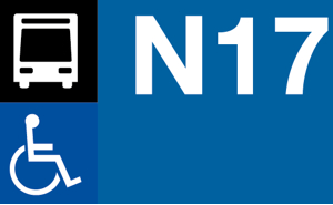 Night bus N16, N16 and N18 to Barcelona airport