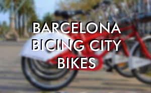 Bicing -  Barcelona city bicycles