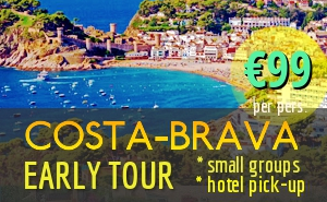 EARLY beat-the-crowds Costa Brava Day Tour from Barcelona