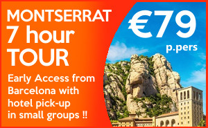 EARLY ACCESS morning Montserrat tour - sponsored