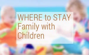 Where to stay in Barcelona family with children?
