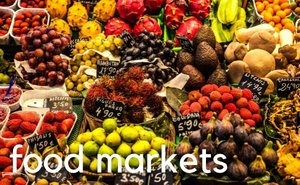 Food markets in Barcelona