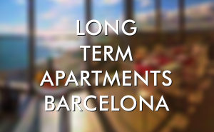 Long term flats for rent Barcelona