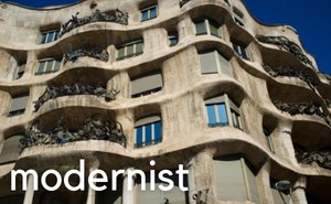 Modernist architecture Barcelona