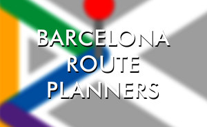 Route planners Barcelona