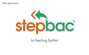 Site sponsor - Stepbac to feeling better
