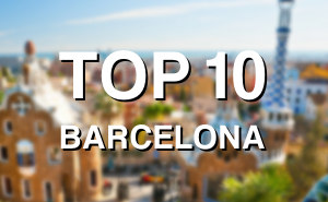 Top 10 Tourist Attractions Barcelona -  Top Ten Barcelona sights 2018