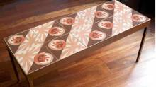 Mesa Bonita - antique modernista tile tables