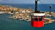 Port cable car Barcelona - Transbordador Aeri del Port