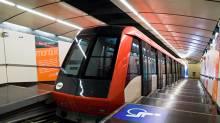 Funicular de Montjuic - train