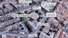 Plaza Catalunya - Plaça de Catalunya
