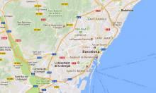 Google maps Barcelona