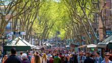 Las Ramblas street - La Rambla