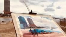 Plein Air Watercolour Barcelona