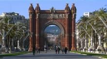 Arc de Triomf - triumphal arch