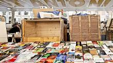 Book market Sant Antoni market