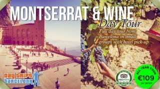 Day Tour to Montserrat & Torres Winery