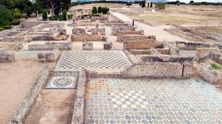 Empúries Greek and Roman ruins - ruines d'Empuries