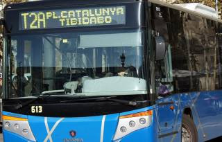 T2A - bus to Tibidabo Amusement Park