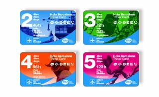 Barcelona Travel Cards. Hola BCN! multi-day travel card