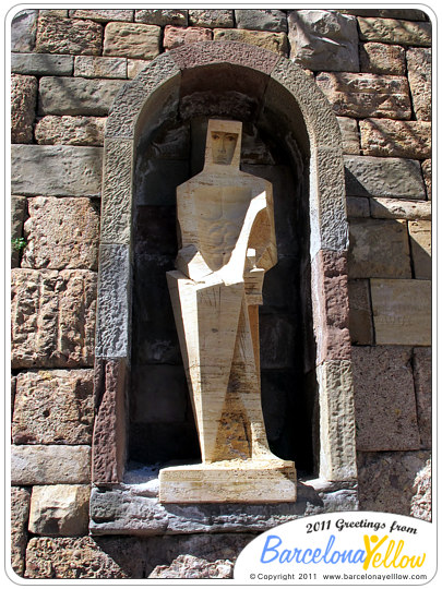 Sculpture by Subirachs at Montserrat