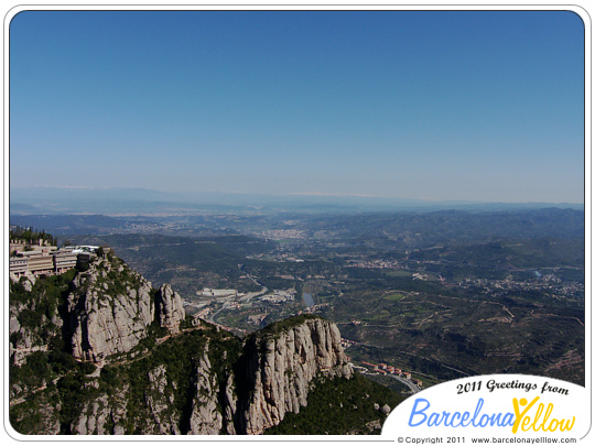 Montserrat mountain views