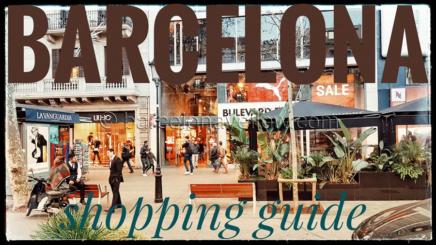 Best Barcelona shopping streets and areas