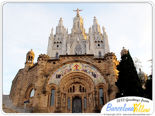 Church Tibidabo Sagrat Cor