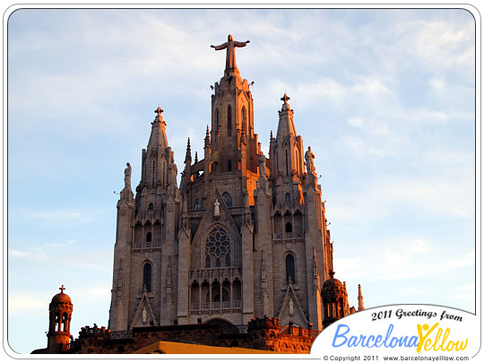 Sacred Heart of Jesus church Tibidabo