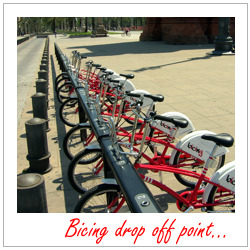Bicing barcelona - bike borrowing