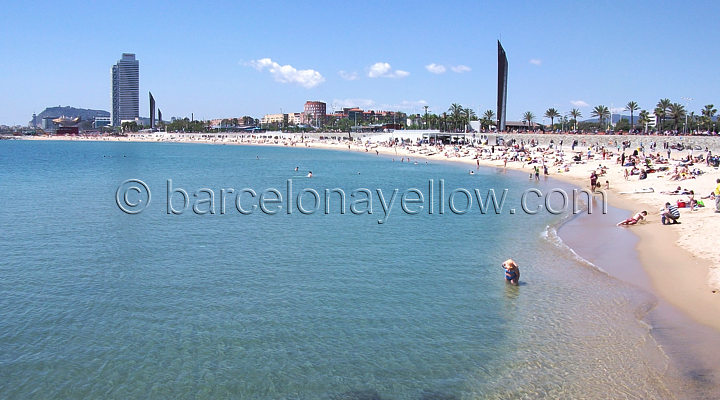 Mar Bella beach Barcelona  - Best beaches