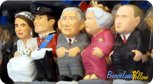 British Royal Family Caganer
