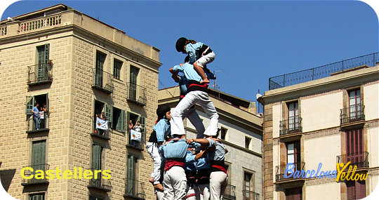 La Merce Festival Barcelona Human Towers