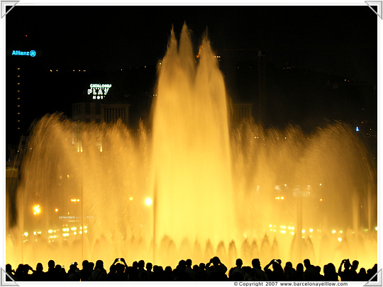 Barcelona Magic Fountains