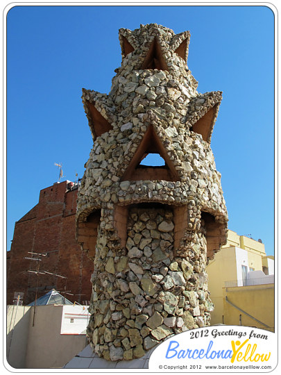Palau Guell chimney