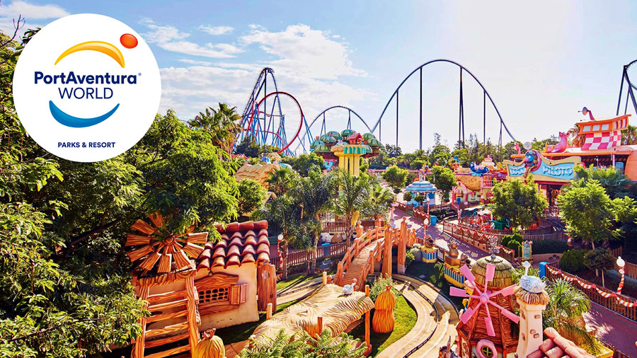 portaventura world - theme park near barcelona